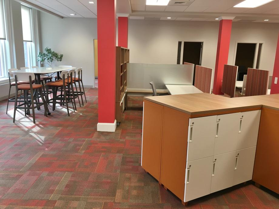 Coworking open tables