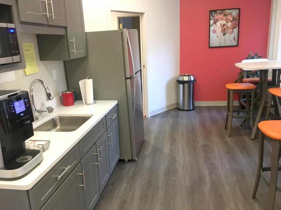 Kitchen at Red Oak Coworking
