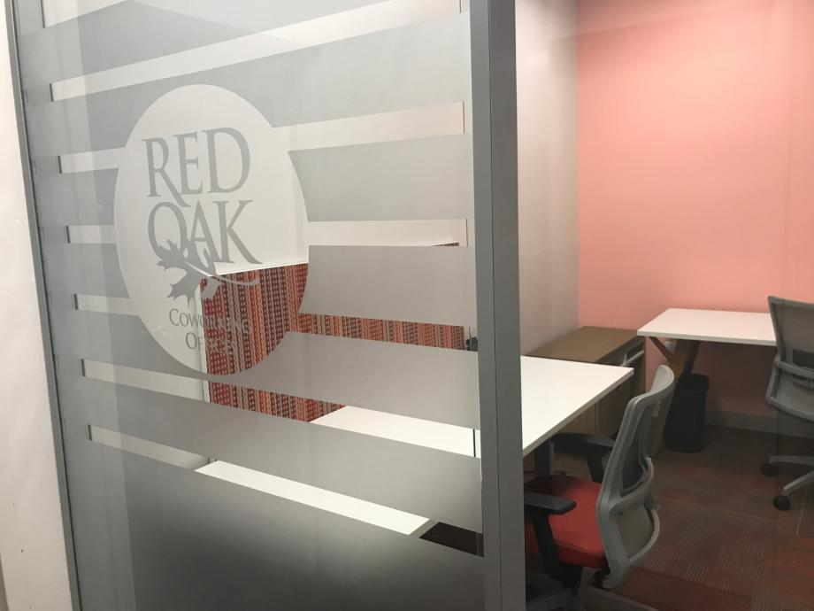 Glass office for rent